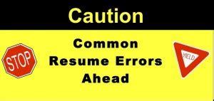 Resume writing achievment focused